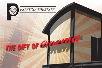 $25 Gift Card to any Prestige Theatres (+ Ship)