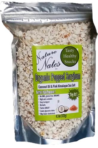 4.3 oz Organic Popped Sorghum
