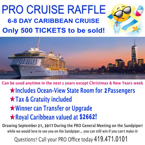 PRO Cruise Raffle
