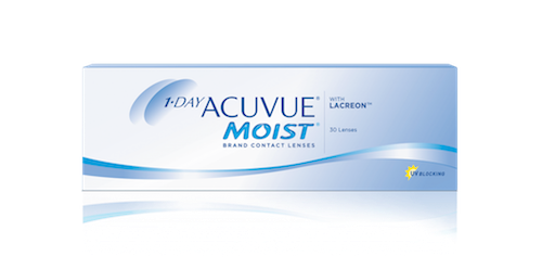 Acuvue 1 Day Moist - 30 Pack