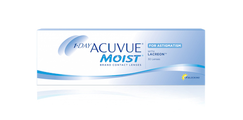 Acuvue 1 Day Moist for Astigmatism - 30 Pack