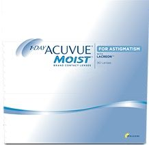 Acuvue 1 Day Moist for Astigmatism - 90 Pack