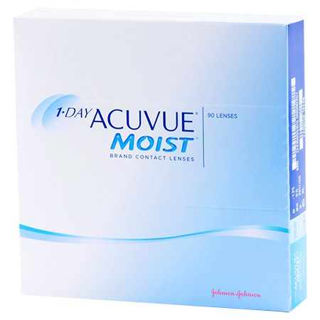 Acuvue 1 Day Moist - 90 Pack