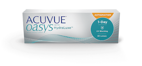 Acuvue Oasys 1 Day w/ Hydralux for Astigmatism 30